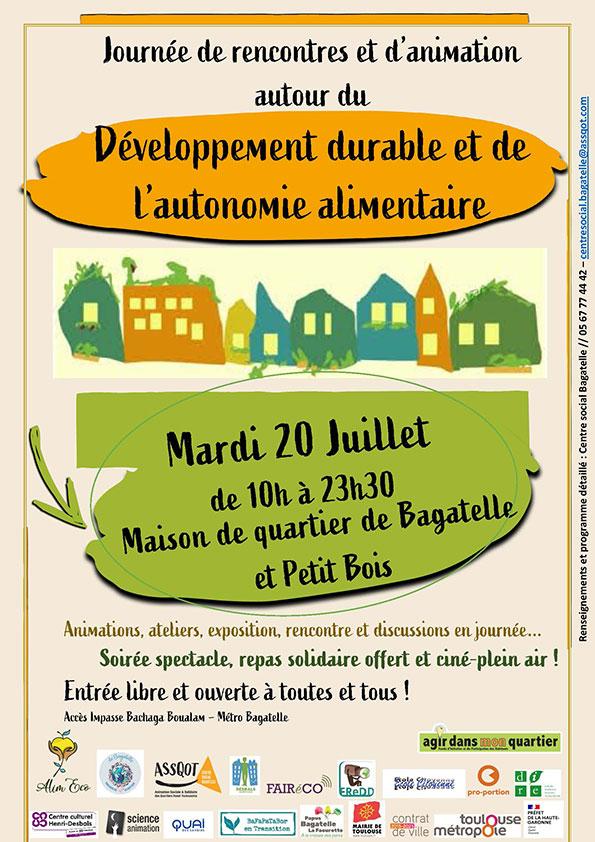 Journée de rencontre autour du développement durable