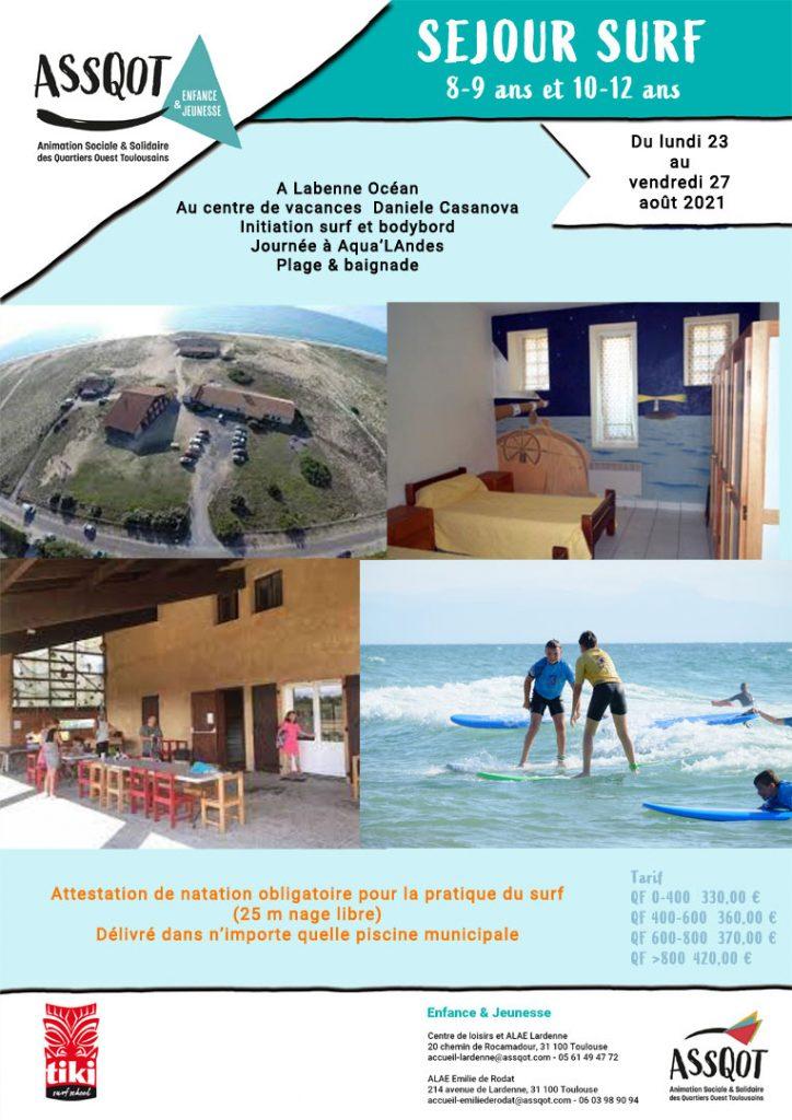 Séjour Surf août 2021