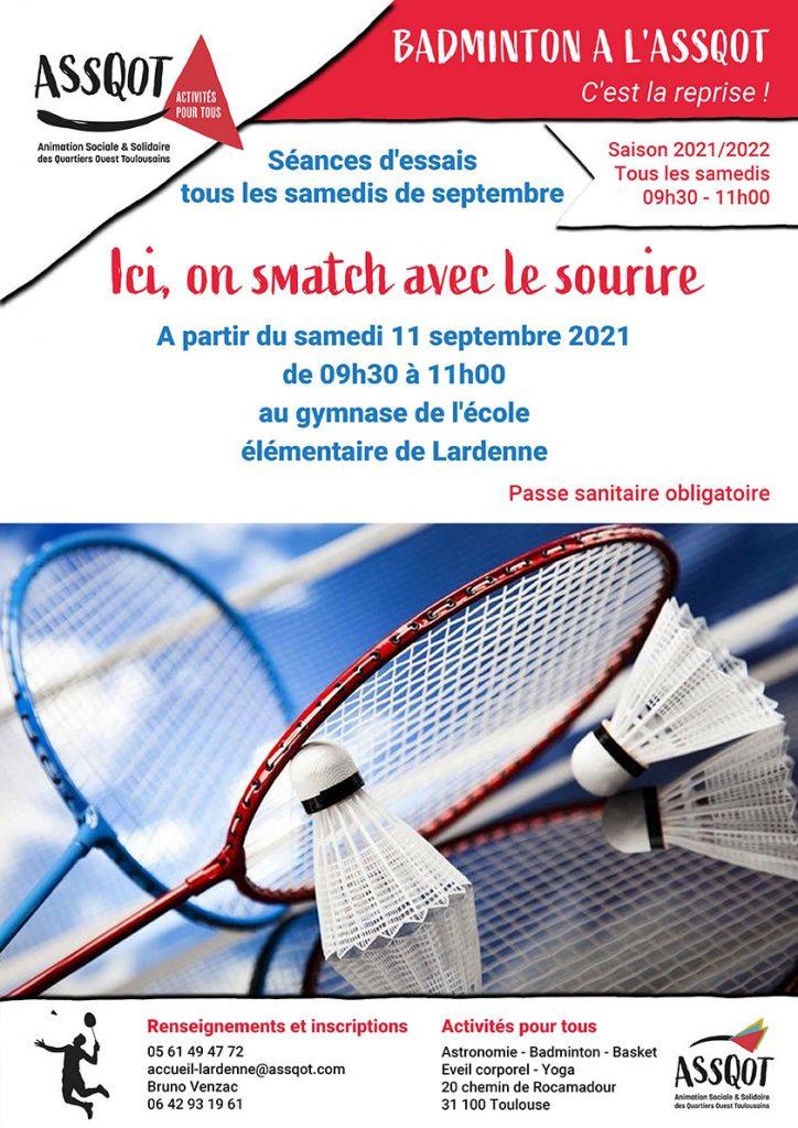 Badminton, c'est la reprise !